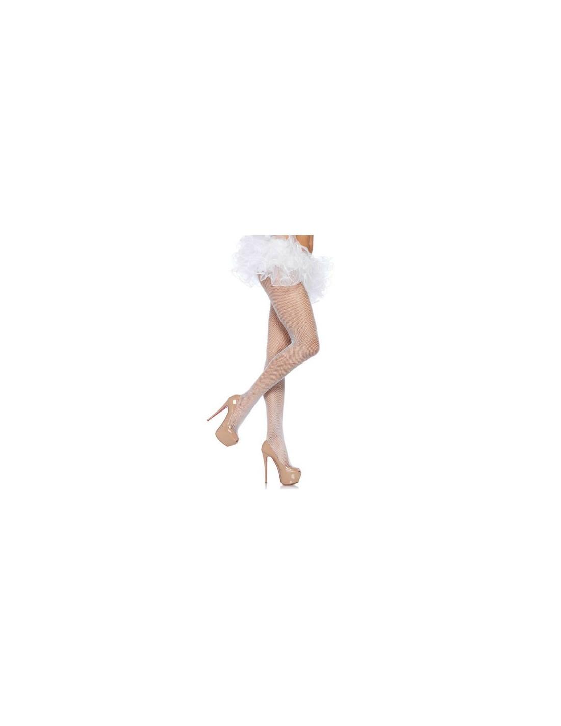 Hlačne nogavice Leg Avenue Bele