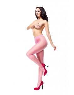 Hlačne nogavice MissO P101 roza (odprto mednožje)