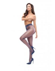 Hlačne nogavice MissO P101 temno modre (odprto mednožje)