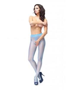 Hlačne nogavice MissO P101 modre (odprto mednožje)
