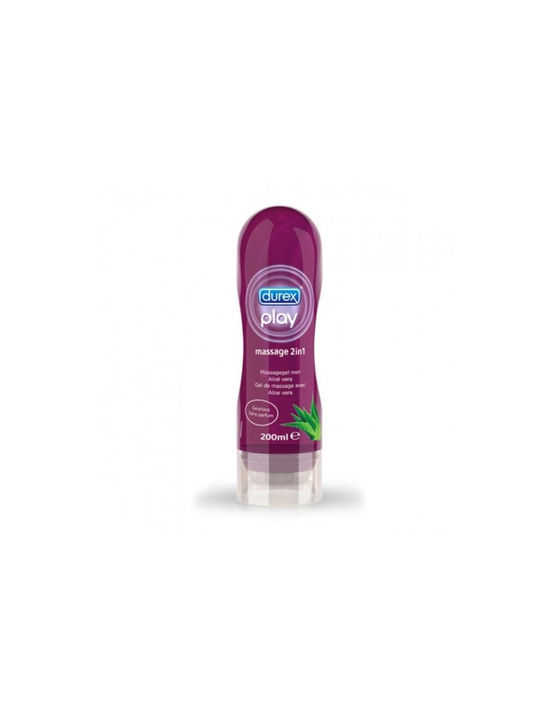 Masažni gel Durex Play Massage 2v1 Aloe Vera